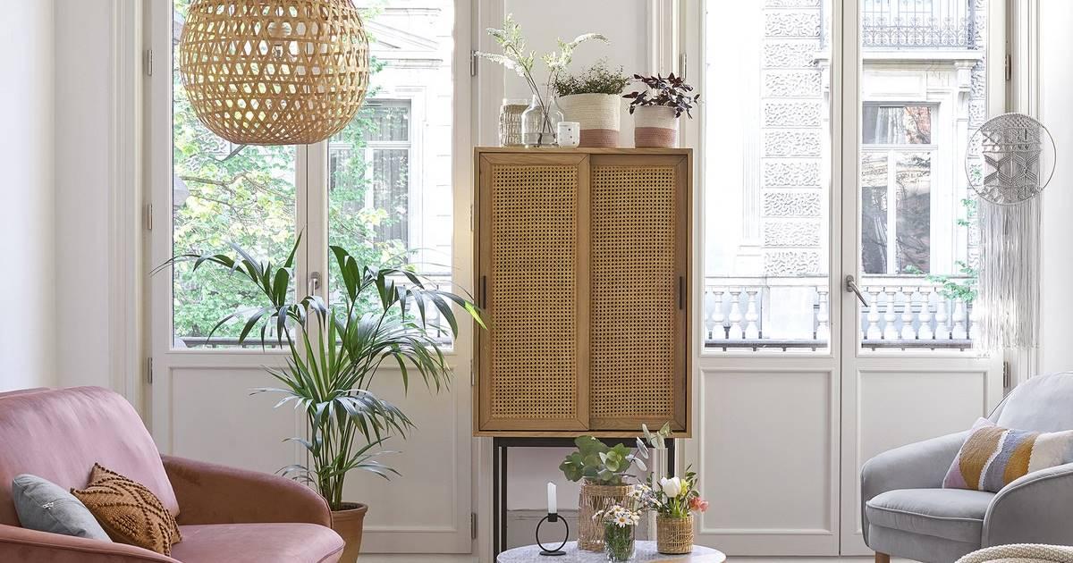 Estas lámparas de fibras naturales animarán tu decoración de verano