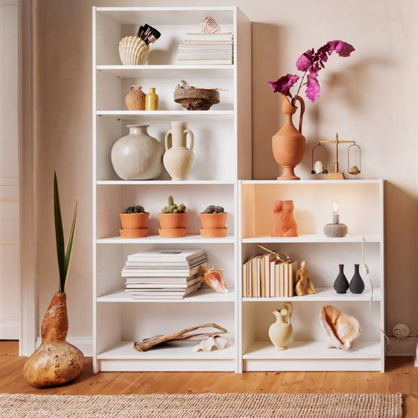11 ideas para decorar tu librería Billy de Ikea