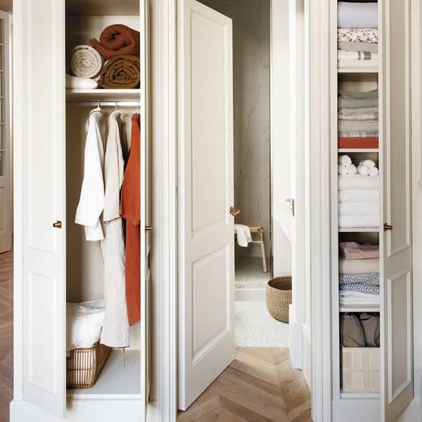 Consejos de experto para organizar un armario ropero mini