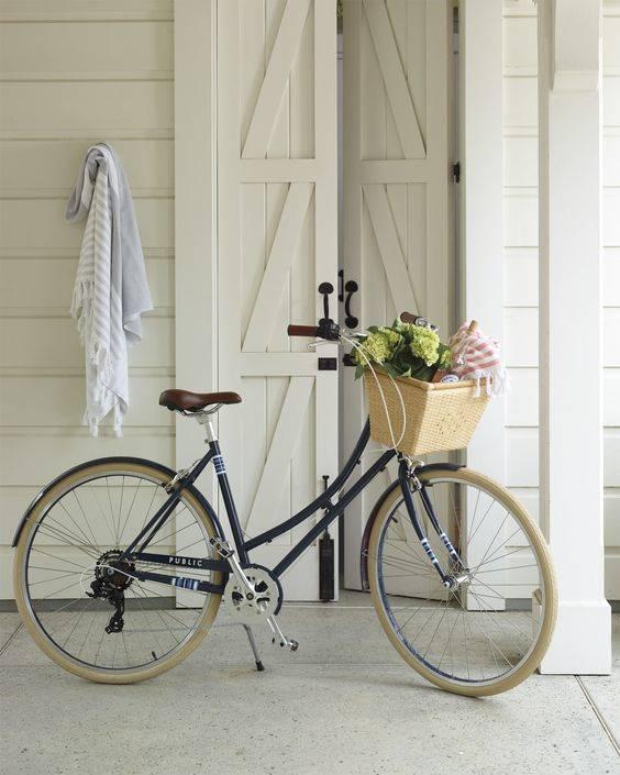bolsa bici ikea colocada en bici