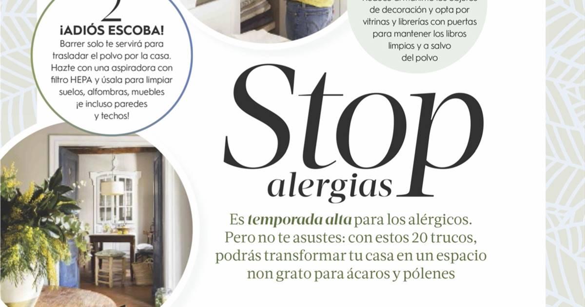 Apúntante a nuestra newsletter y descárgate el pdf para acabar con las alergias