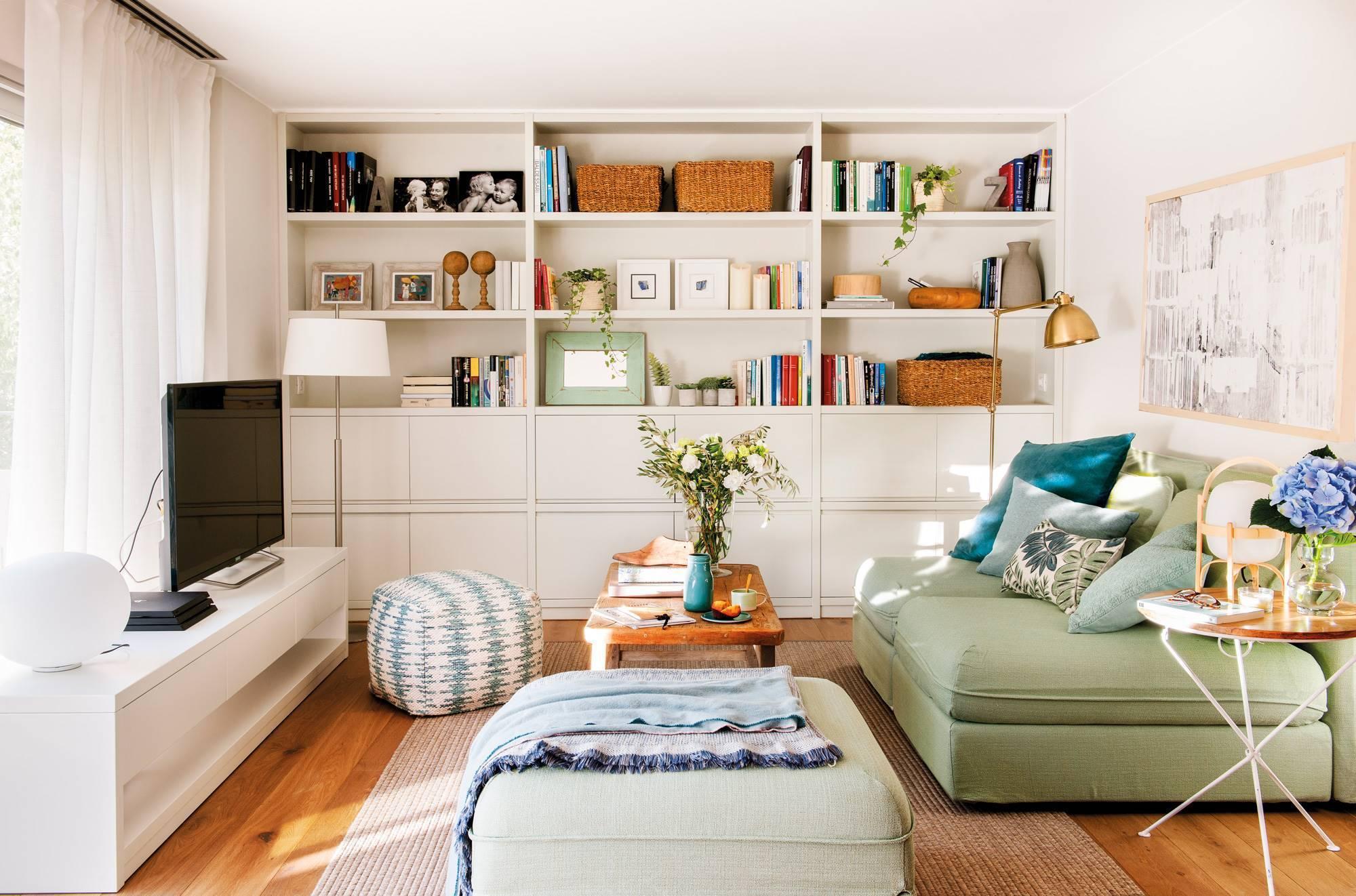 Los mejores muebles de IKEA para salones pequeños