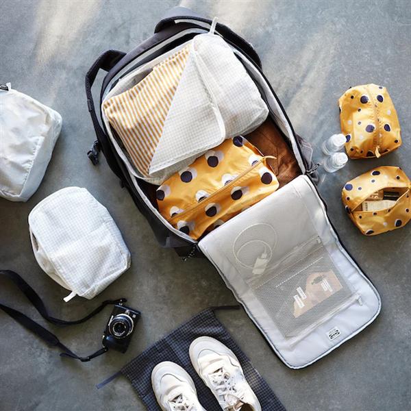 Organizadores de maleta para mantener el orden cuando viajes
