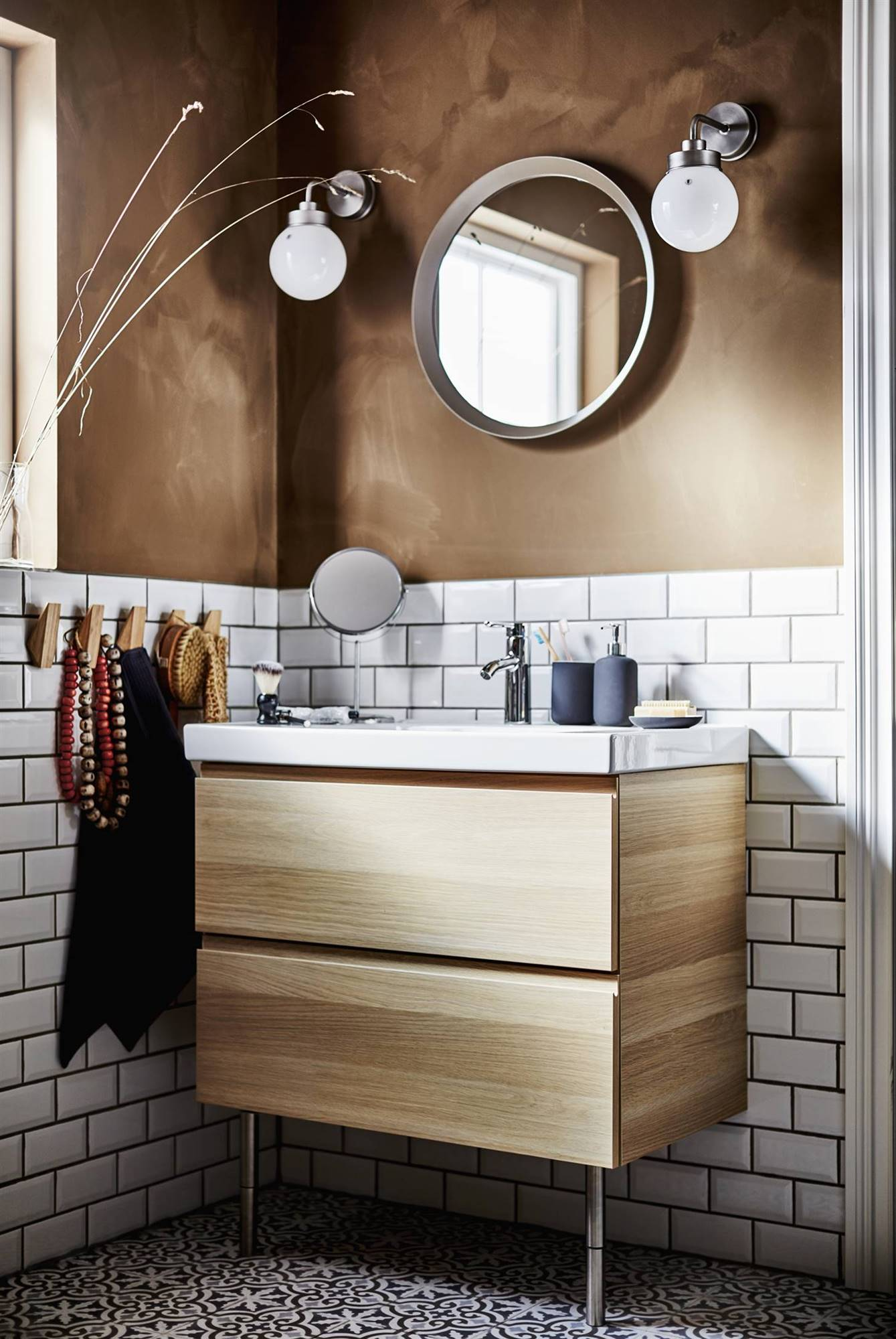 mueble baño 140 cm ikea