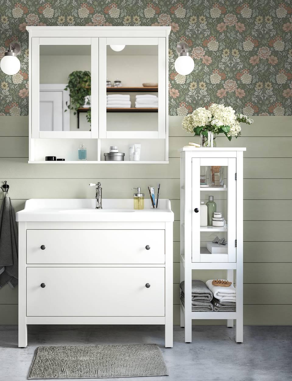 muebles de baño rusticos ikea