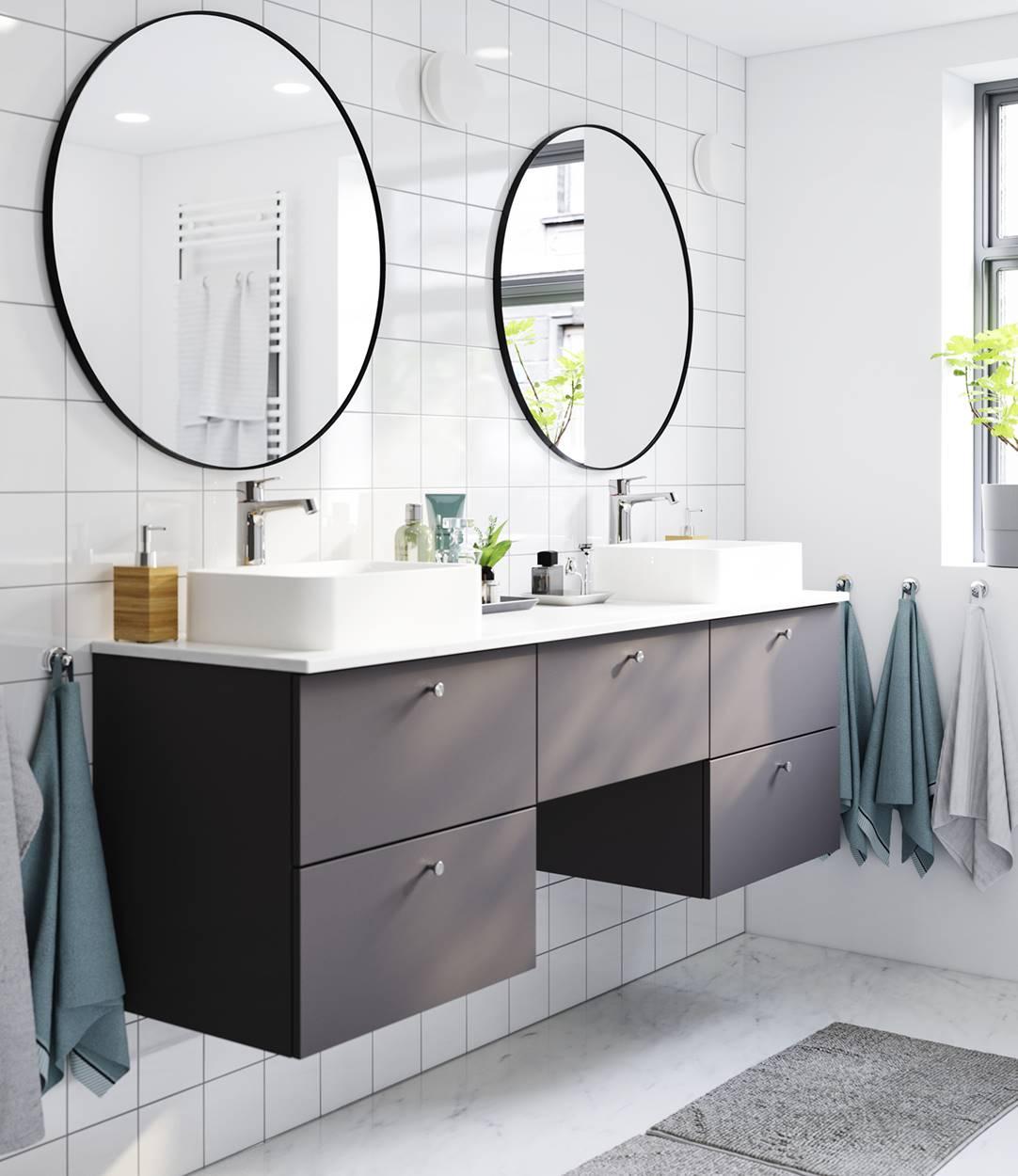 muebles lavabo doble seno ikea