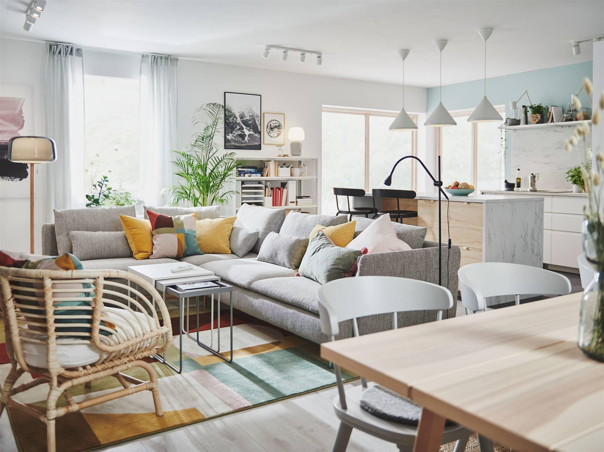 Catálogo IKEA 16: grandes ideas para salones