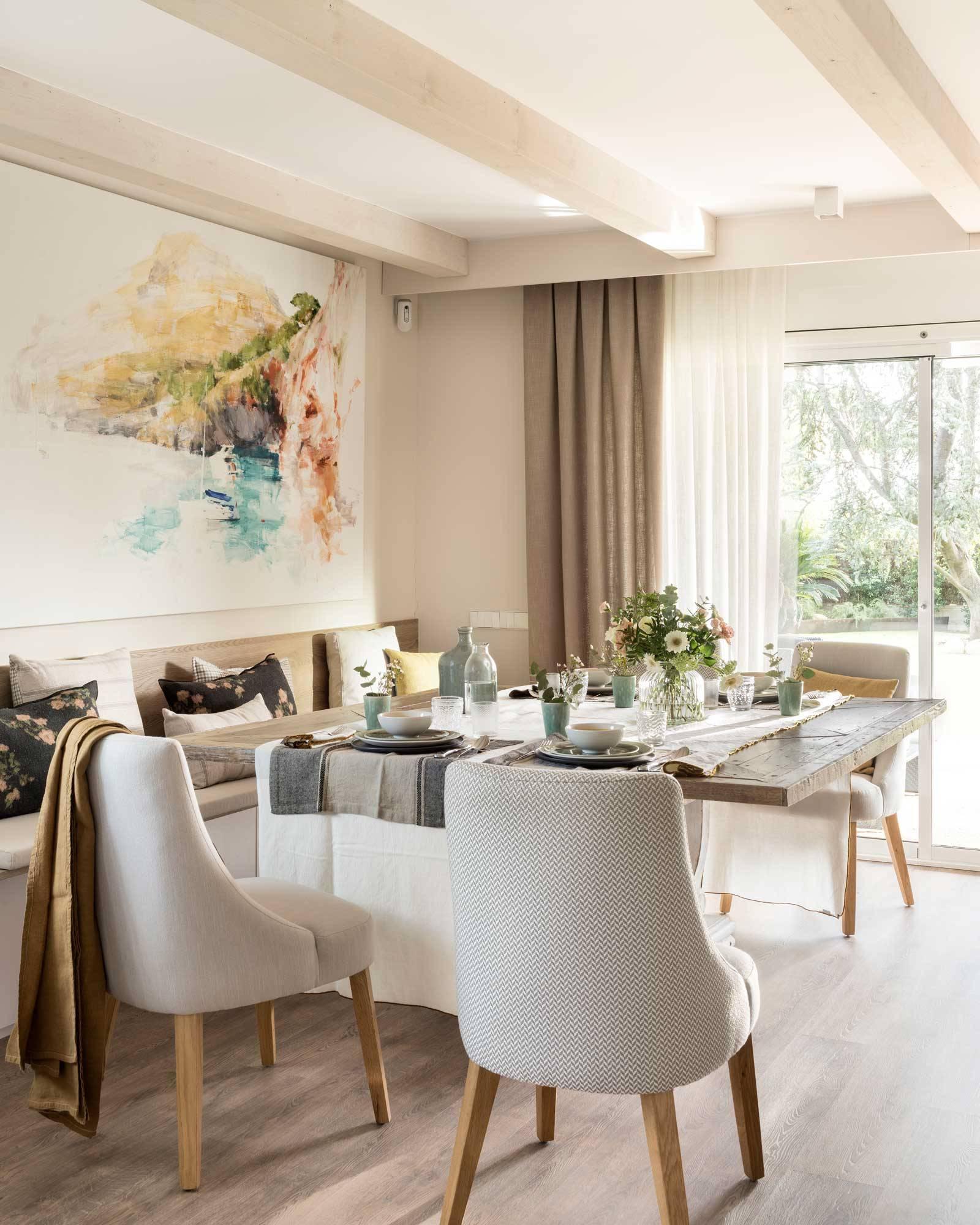 Comedor: 16 ideas para decorar sus paredes