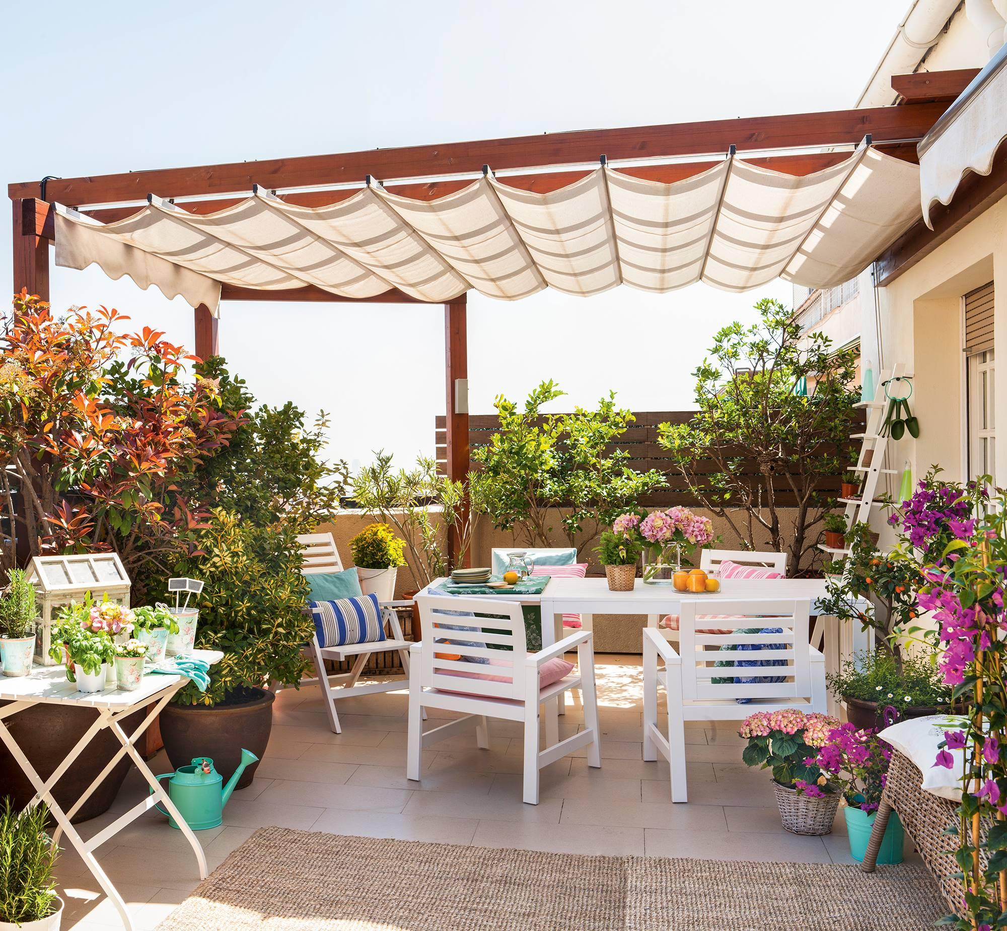 Pergolas Para Terraza Y Jardin La Cubierta Perfecta