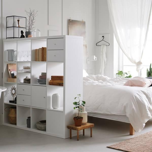 Cómo dividir espacios con muebles de Ikea