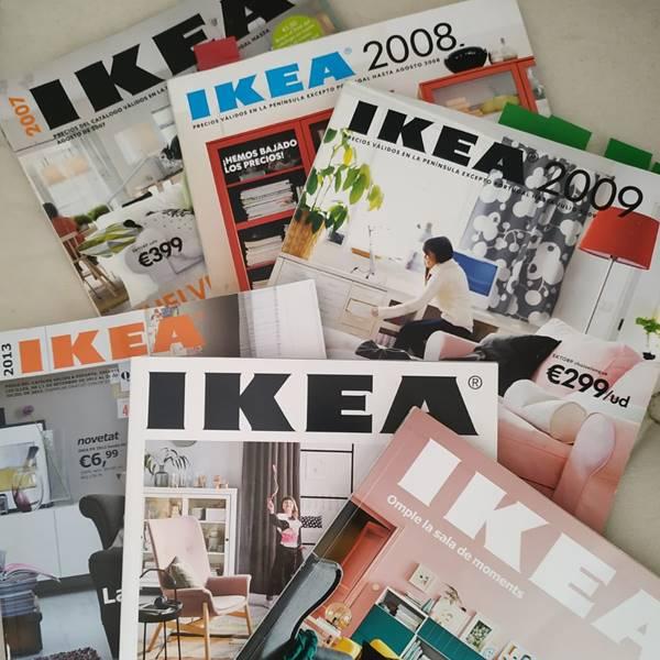 ¿Quieres ver la portada del catálogo de IKEA del año que naciste?
