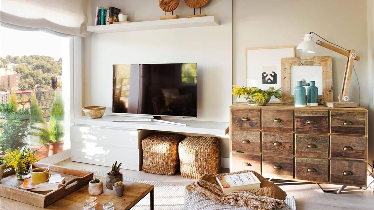 25 ideas de decoración para salas de estar pequeñas