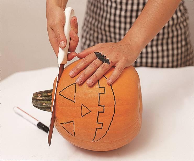 Cómo Vaciar Una Calabaza Para Halloween
