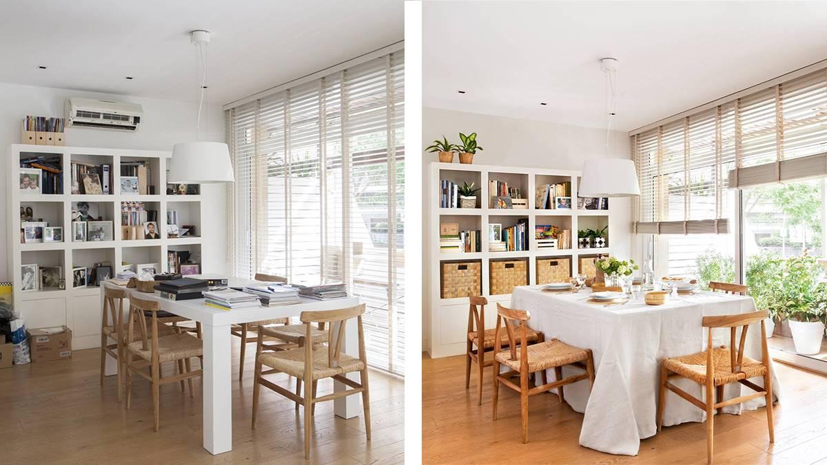 Antes y después: 3 estancias desordenadas que ahora parecen otras