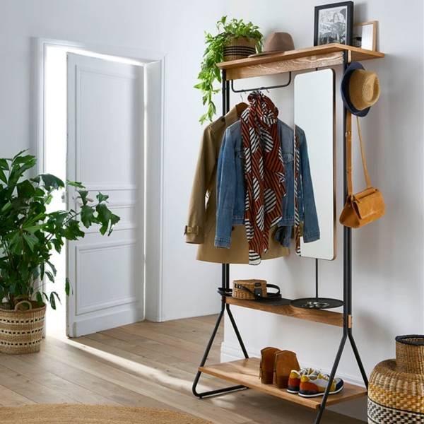 El mueble de recibidor que acaba con el desorden en pisos pequeños
