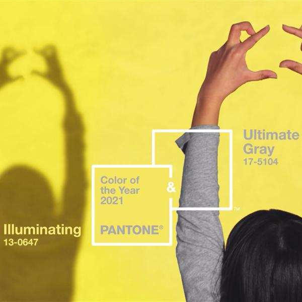 El color de Pantone para 2021 no es uno, sino dos