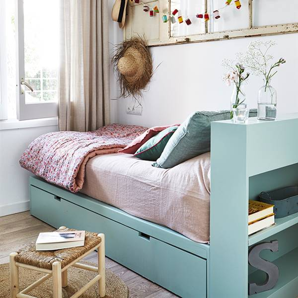 Soluciones para guardar bajo la cama o por qué tener una cama nido