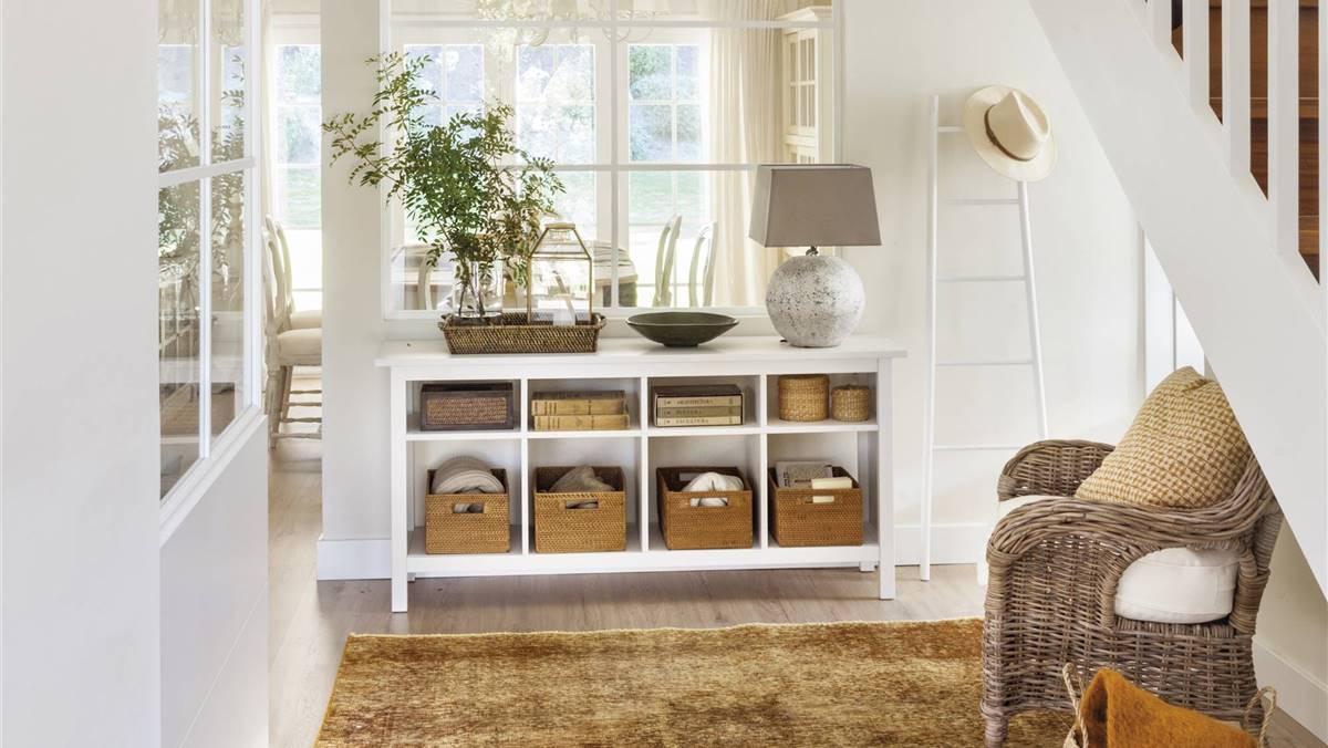 Muebles antidesorden o cómo conseguir un recibidor más organizado (con shopping)