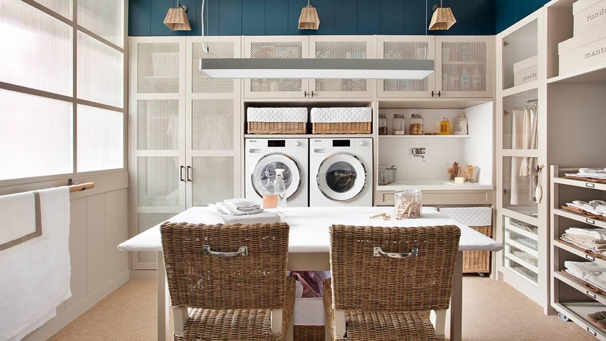 ¿Un armario que lava, plancha y ocupa poco espacio? Lo hemos encontrado