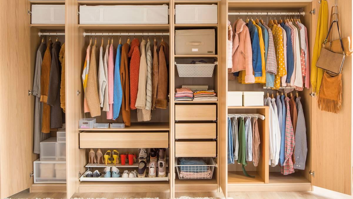 50 ideas geniales para ganar espacio en los armarios de toda la casa